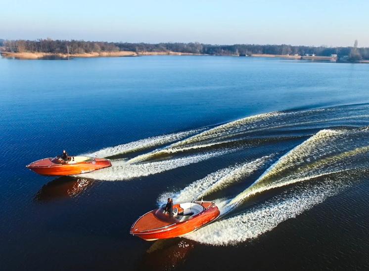 Ventura Speedboat Dutch wooden boats
